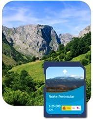 Satmap GPS System Karte Naturschutzgebiete Andalusiens, schwarz, ES-ALP-25-PREM-SD-004