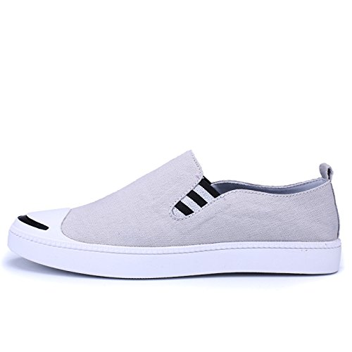 casual scarpe espadrilli scarpe slack casual gray uomini IHfqwBI