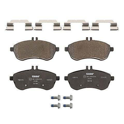 Ferodo FDB1978 Brake Pad Set, disc brake - (set of 4)