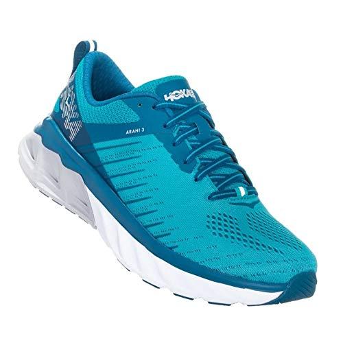 Hoka One One Arahi 3 Running Shoes Women Scuba Blue/Seaport Schuhgröße US 8,5 | EU 40 2/3 2019 Laufsport Schuhe - One Basketball-schuhe