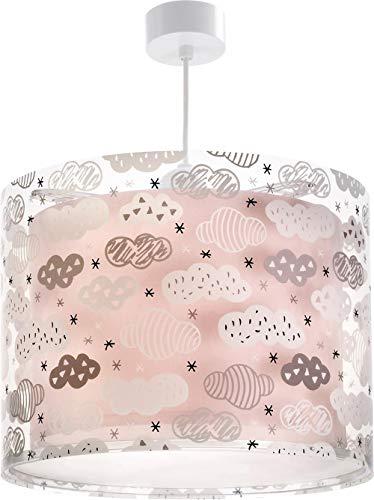 Dalber Clouds Hängelampe, Plastik, Rosa, 33 x 33 x 25 cm