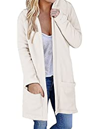 4fa95d14a4cc Yeesea Damen Casual Langarm Outwear mit Kapuze Warm Herbst Coat Oberteil  Mantel Parka Jacket mit…