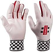 Gray-Nicolls Boy Wicket Keeping Inner Cotton Padded Jun Gloves - White, Medium