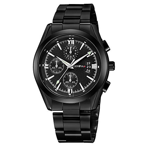 Herren Edelstahl Quarz Analog Datum Armbanduhr Sport Uhren Geschenke Online Herren Uhren