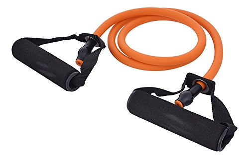 Tablor™ Soft Expander Resistance Band - Ankle Strap for Legs Workout, Toning Tube - Multi color  available at amazon for Rs.279
