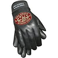 King Kerosin Mechanic Crew Handschuhe Lederhandschuhe