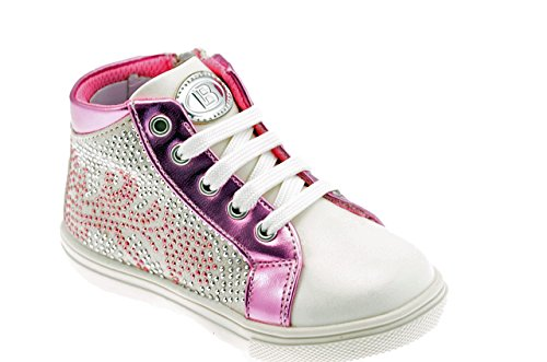 Biagiotti Kinders Pink Desporto Branco Laura Meados 401 De Mid Sportstiefel Neu 401 Laura Rosa Novos Botas Weiß Biagiotti Kinders nXawqR0qg