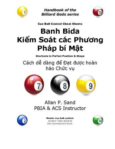 Cue Ball Control Cheat Sheets (Vietnamese): Easy Ways to Perfect Position por Allan P. Sand