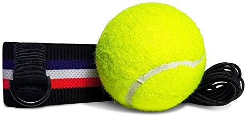 Kellago Profi Fight-Ball-Reflex Kampfball mit Stirnband für Boxentraining [ Speziell angefertigtes...