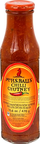 CMC MRS Ball's Chutney Chili, 4er Pack (4 x 375 ml)