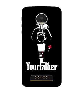 EPICCASE Your Father Mobile Back Case Cover For MOTO Z PLAY (Designer Case)