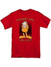 Garfield I Didn t Do It camiseta de manga corta para hombre