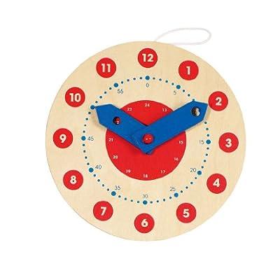 Goki- Juegos Educativos Reloj, Aprende a Leer la Hora, (58980) por GOKI