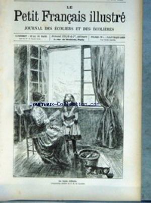 PETIT FRANCAIS ILLUSTRE (LE) [No 321] du 04/1895 - LA LECON DIFFICILE - COMPOSITION INEDITE DE P.-R. DE LAGESSE. par Collectif