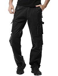 9fefa51161d NPRADLA 2019 Pantalons Hommes à Boutons Outdoors 2019 Casual Nouveau  Printemps éTé Mode Coton Pantalons De