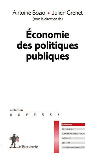 Économie des politiques publiques