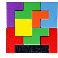 Tootpado Wooden Tetris Jigsaw Puzzle Pack of 2 (1TNG242)