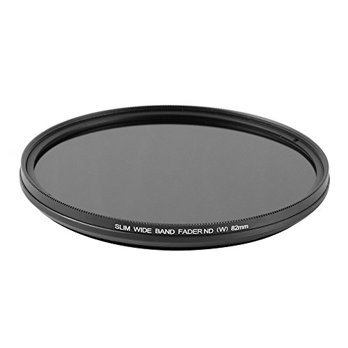 Ruili Schlank Fader Variable ND Filter einstellbar Neutrale Dichte 58mm, ND2 to ND400,58mm, Kamera Filter -
