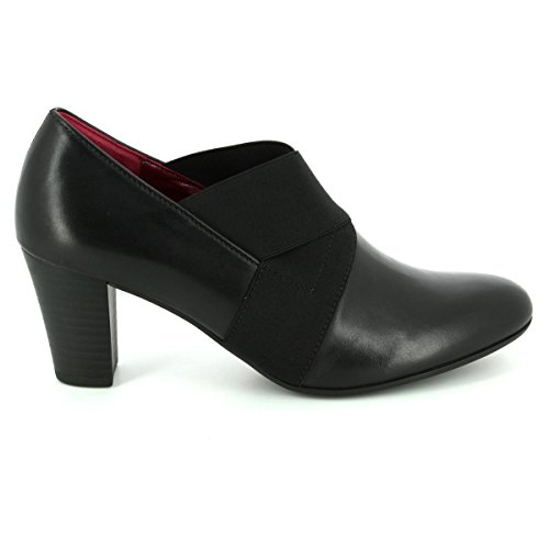 Gabor Shoes Comfort Fashion, Scarpe con Tacco Donna Nero (57 Schwarz Fu Rot)