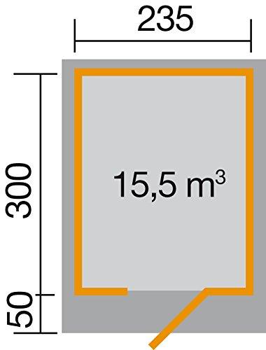 weka Designhaus 172 Gr.2, schwedenrot, 28 mm, ET