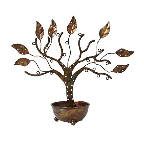 Ancient Graffiti 83216 Small Jewellery Tree with Bowl - Multi-Colour