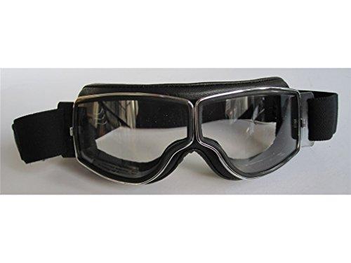 AVIATOR T2 Brille Motorradbrille chrom