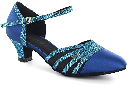 DSOL CLASSIC , Damen Tanzschuhe schwarz schwarz 38, blau - blau - Größe: 41