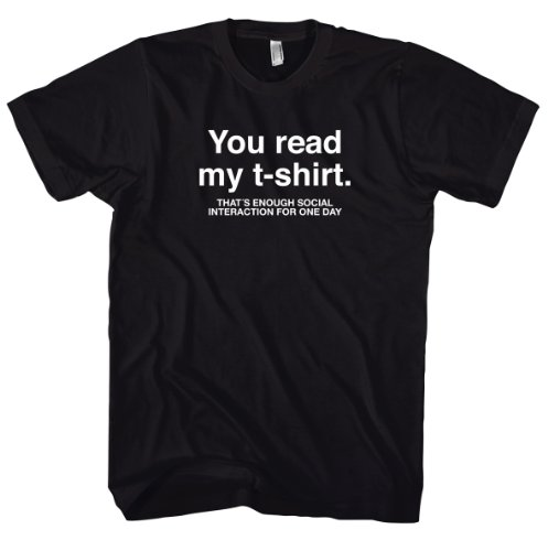 Geek Social Interaction T-Shirt