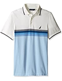 Nautica S/S Graduated Stripe Yd Slim Fit, Polo Homme