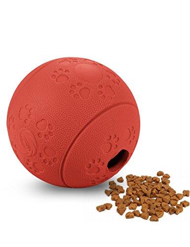 Snackball Coolden® Naturkautschuk Futterball Hundespielball Spielzeug Ball Lebensmittel Dispenser Spielball Interaktive Hundespielzeuge Für Befüllen Hunde Dog Activity Rod
