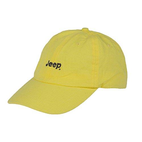 Jeep Herren J Man Cap Ripstop J5S Pale Yello/Dark Grey, Uni