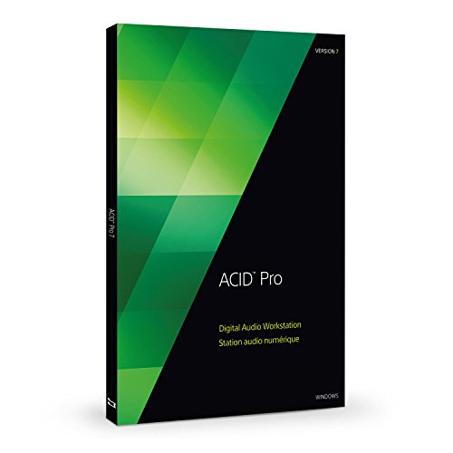 SONY ACID Pro 7 (Software Komponieren Musik)