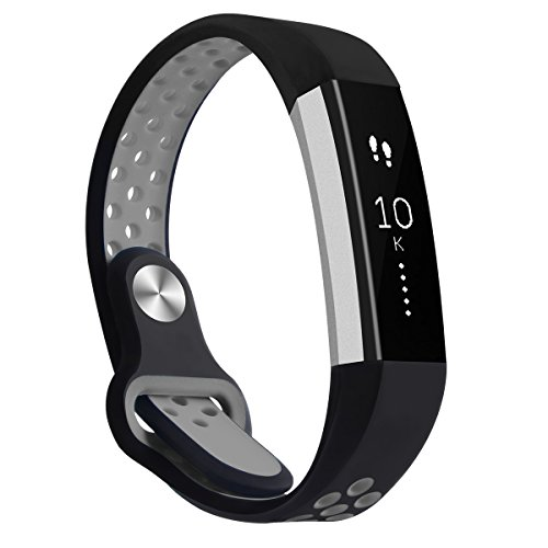 Fitbit Alta und Fitbit Alta HR Band, WZE Verstellbares Silikon Band Weiches Silikon Ersatz Zubehör Strap Bands für Fitbit Alta und Alta HR Smart Watch Herzfrequenz + Fitness Wristband