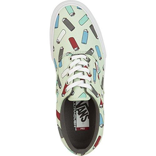 Vans  M Era Pro, Herren Skateboardschuhe Gris Claro / Multicolor