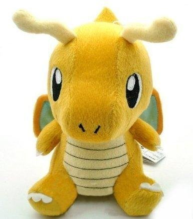 P4 Pokemon Soft Toy Plush Figure Dragonite 17 cm