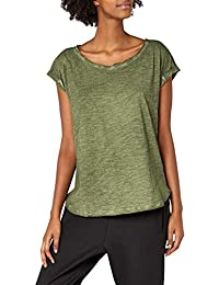 Urban Classics Damen T-Shirt Ladies Long Back Shaped Spray Dye Tee cd9210b6f6