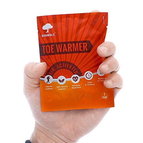 12 Paires Premium Chauffe-Pieds, Foot Warmers -100% Naturel, Prêt à l'emploi, 8-10 Heures de Chaleur - pour Chaussures, Chaussettes, Gants, Poches.