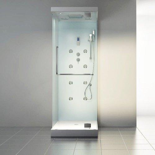 Home Deluxe Design M Duschtempel, inkl. Dampfdusche - 2