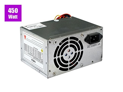 Frontech 450 watt Power Supply Model JIL-2414i (SMPS with 20+4 pin)