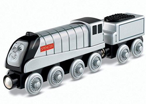 Mattel Fisher-Price Y4074 - Thomas und seine Freunde Holzlokomotive Spencer, groß