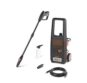 Black+Decker BXPW1400E Idropulitrice ad Alta Pressione (1400 W, 110 bar, 390 l/h)