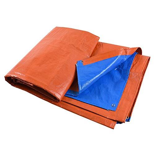 AZHF Plane - Verschleißfeste Sonnencreme Staubdicht Dick Orange, Super Wasserdichter Poncho, Kann Angepasst Werden (Farbe : Orange, größe : 2X3M)