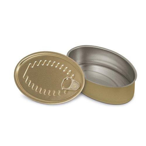 Supreminox ovalados para Aperitivo latas, 11x 7cm, de Aluminio, 11x 7x 30cm