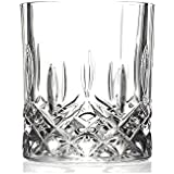 Soogo Camilo Glass Rock Glass Set, 310 ml, 6-Pieces, Transparent