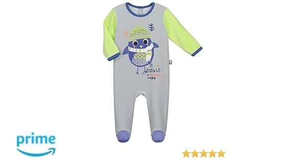 3269d67e769ce Pyjama bébé velours Pingoo - Taille - 3 mois (62 cm)  Amazon.fr  Bébés    Puériculture