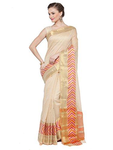KVS FAB Beige Colour Cotton Silk Saree(KVSSR21030SHIMAYA_2)