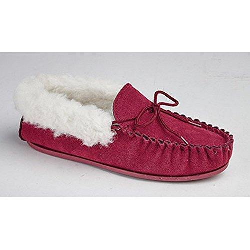 Mokkers Emily - Chaussons style mocassins - Femme Rouge