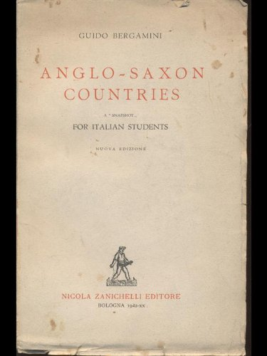Anglo-Saxon countries - a snapshot for italian students