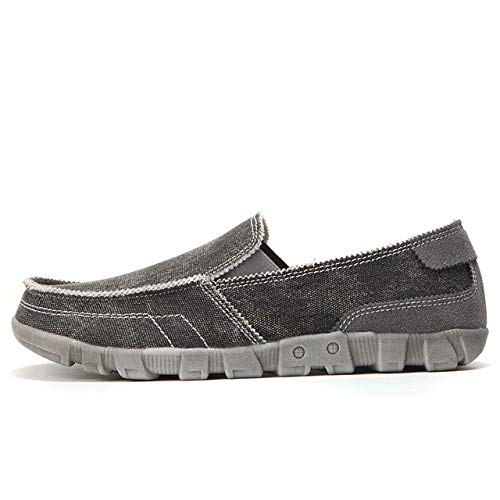 LFXIE Summer Men Canvas Shoes Alpargatas Zapatos Casuales Transpirables Hombres Slip on Luxury Mocasines...