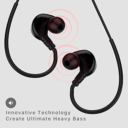 Jayfi JET-830 Geräusch-Isolierung Stereo Ohrhörer In-Ear-Kopfhörer Erinnerungsohrhaken mit Draht - 5